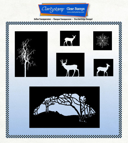 Winter Wonderland Blocks A4 Square Unmounted Stamp Set