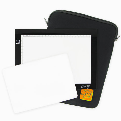 Lightwave A5 LED Light Panel, Superfoam & Cover Bundle