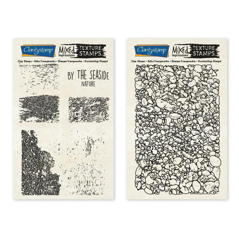 By the Seaside - Nature - Mixed Impressions <br/>Unmounted Clear Stamp Set