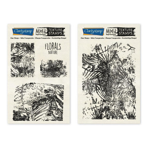 Florals - Nature - Mixed Impressions Unmounted Clear Stamp Set