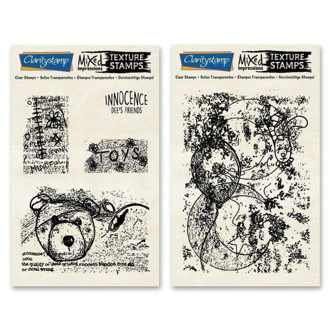 Dee's Innocence Mixed Impressions Stamp Set