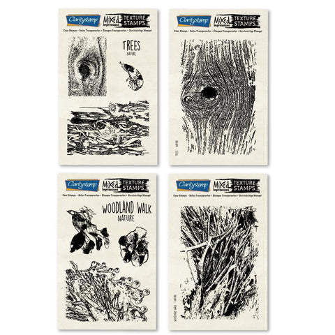 Trees & Woodland Walk - Mixed Impressions Stamp Set
