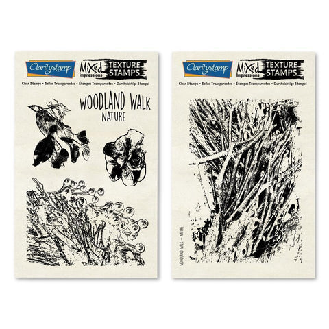 Woodland Walk - Mixed Impressions Stamp Set