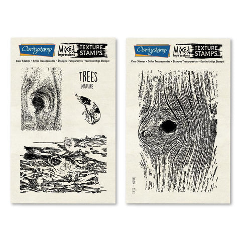 Trees - Mixed Impressions Stamp Set