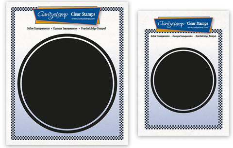 Set of 2 Circle Backdrop Stamps