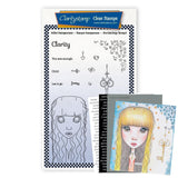 Small Dee's Friends - Clarity <br/>Unmounted Clear Stamp Set <br/>+ MASK & 2x Phrase Sheets
