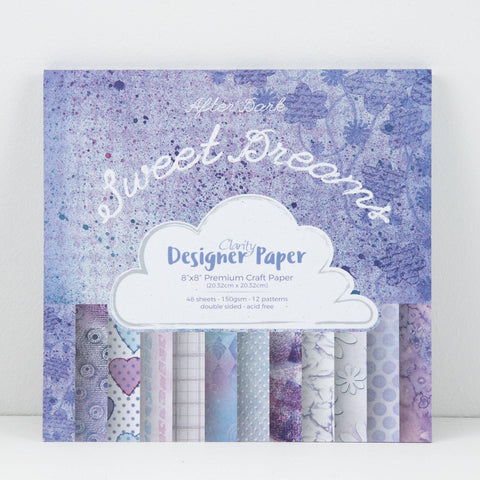 "Sweet Dreams <br/>Designer Paper Pack 8"" x 8"""