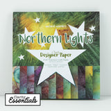 "Northern Lights <br/>Designer Paper Pack 8"" x 8"""