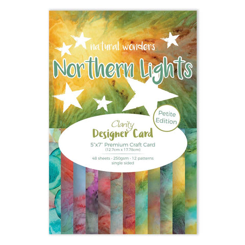 "Northern Lights Designer Card Pack 5"" x 7"" - Petite Edition"