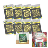"Botanical Aperture Collection <br/>Clarity Fresh Cut Dies <br/> ii Book & 12"" x 12"" Shenandoah Designer Paper Pack"
