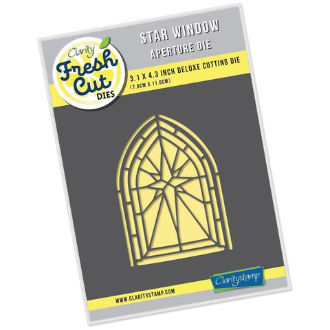Star Window Aperture <br/>Clarity Fresh Cut Die