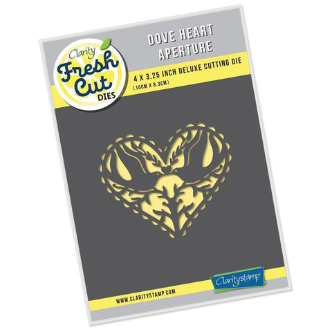 Dove Heart Aperture Clarity Fresh Cut Die
