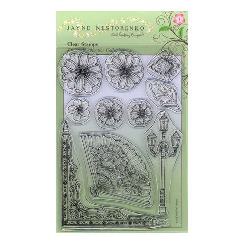 Accessories Jayne Nestorenko<br/>Unmounted Clear Stamp Set
