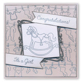 Adorable Baby + MASK <br/>Unmounted Clear Stamp Set