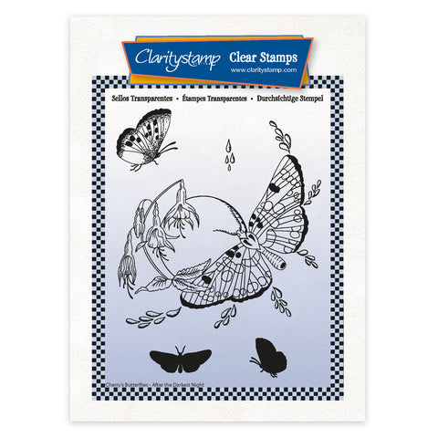 Cherry's After the Darkest Night Complete Montage A6 Stamp & Mask Set