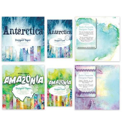 Amazonia & Antarctica Designer Paper & Card Collection