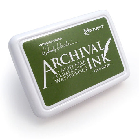 Archival Ink Pad - Fern Green