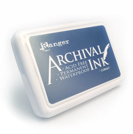 Archival Ink Pad - Cobalt Blue