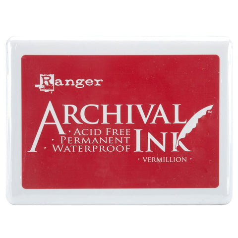 Archival Ink Pad - Vermillion
