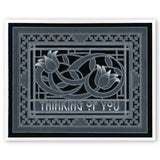 Art Nouveau Thinking of You <br/>A6 Groovi Plate