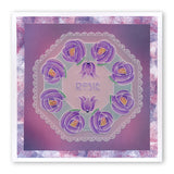 Art Nouveau Thank You <br/>A6 Groovi Plate