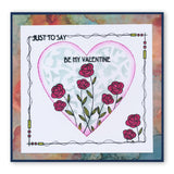 Art Nouveau Sentiments Unmounted Clear Stamp Set