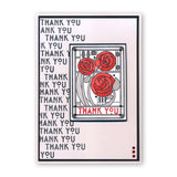 Art Nouveau Best Wishes & Thank You Unmounted Clear Stamp Set