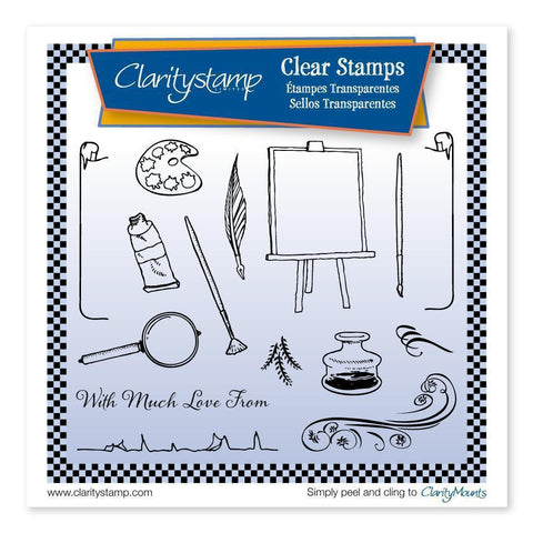 Artist <br/>Unmounted Clear Stamp Set