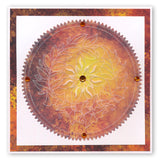 Autumn Rounds A5 Square Groovi Plate Set