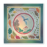 Autumn Wreath & Snail and Toadstool <br/>A5 Square Groovi Plate Set