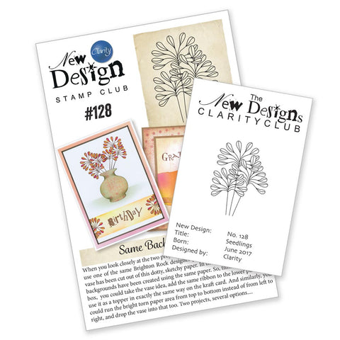 New Design Club Back Issue 128 - Seedlings