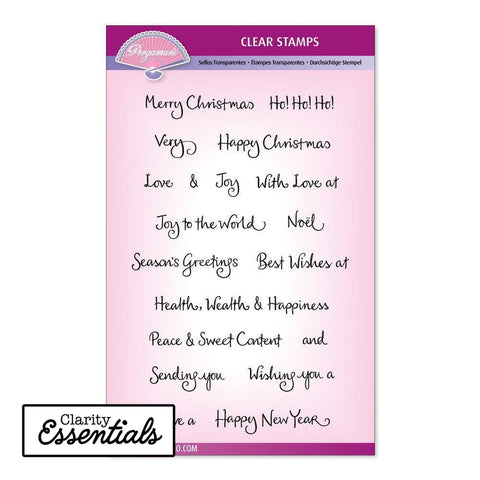 Barbara's Christmas Sentiments Stamp Set