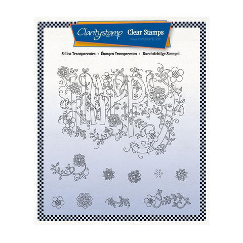 Barbara's SHAC Happy Doodle A5 Square Stamp Set
