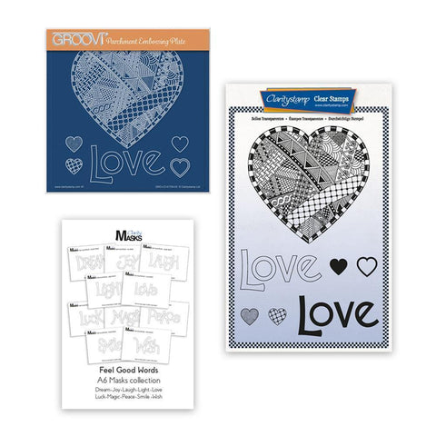 Barbara's SHAC Love Heart Doodle Collection