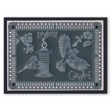 My Art Word Chain & Arrows Groovi Border Plate (Set GRO-WO-40576-XX)