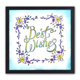 Best Wishes Sentiments Unmounted Clear Stamp Set