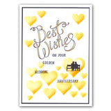 Best Wishes Sentiments <br/>Unmounted Clear Stamp Set