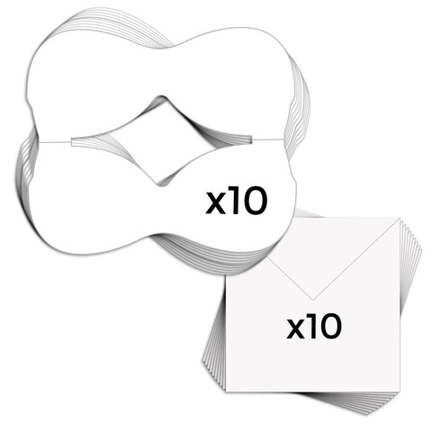 Bra Card Blanks & Envelopes