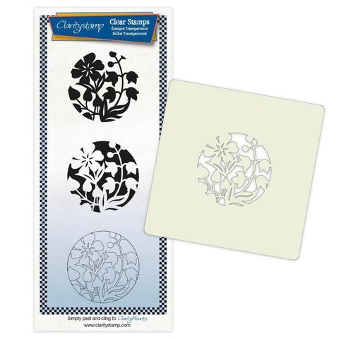 Primrose & Friends + Stencil & MASK Unmounted Clear Stamp Set
