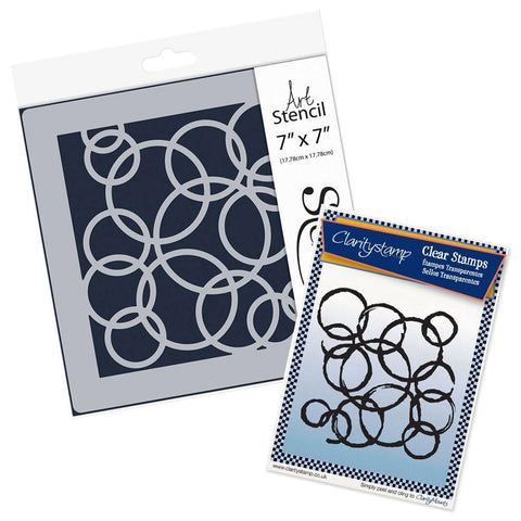 Rings <br/>Stamp Set & Stencil Bundle