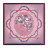 Cameo Ladies Set <br/> A6 Square Groovi Baby Plates (Set of 4)