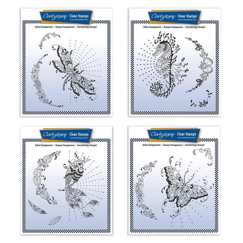 Cherry's Wildlife Collection Unmounted Clear Stamp Sets
