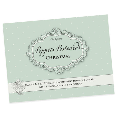 Poppets Postcards - Christmas