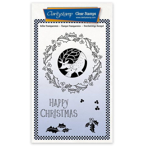 Christmas Rounds - Deer A6 Unmounted Stamp Set