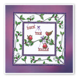 Christmas Carol 2 - Reindeer & Robins <br/>Unmounted Clear Stamp Set