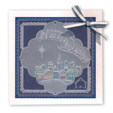 O Little Town & While Shepherds Watched <br/>A5 Square Groovi Plate Set