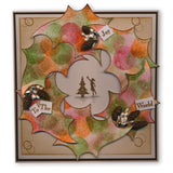 Christmas Outlines Bundle + MASKS Unmounted Clear Stamp Sets