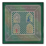 Christmas Windows <br/>A5 Square Groovi Plate Set