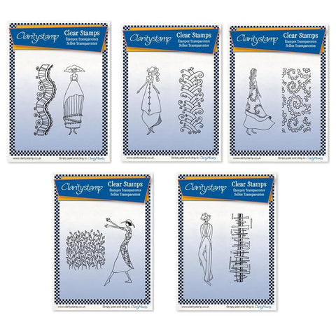 Clarity Characters Collection + MASKS <br/>Unmounted Clear Stamp Sets