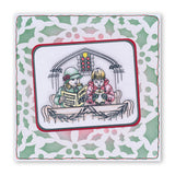 "Jayne's Christmas Collection <br/>Unmounted Clear Stamp Sets + 7"" x 5"" Mega Mount"